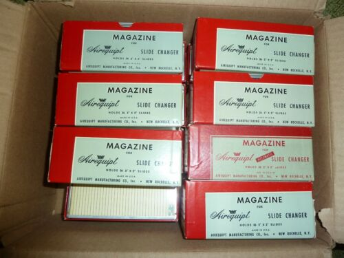 Lot of (15) AIREQUIPT SLIDE MAGAZINES for Slide Changer 2x2 36 Slots CLEAN