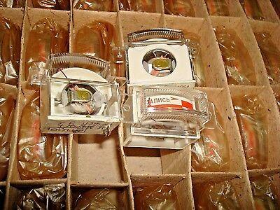 Vintage Mini Vu Meter For Recording M4761 Made Ussr Nos Lot Of 4 Pcs.