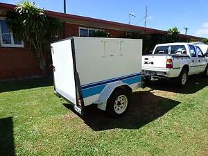 Trailer covered and lockable Tablelands South Burnett Area Preview
