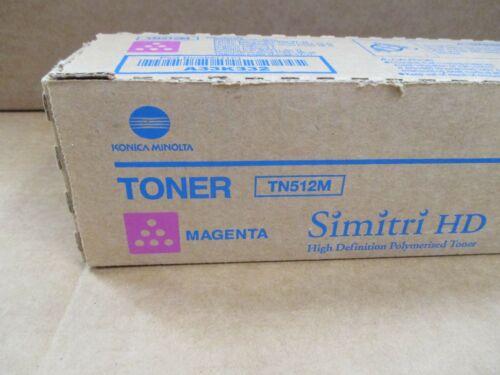 Konica Minolta TN512M Magenta Toner