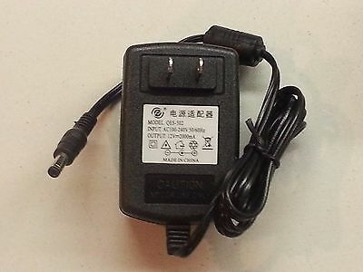 12V 2A Power Supply Wall Wart - 12VDC 12V-2A 5.5mm x 2.1mm Plug NICE! *US SHIP*