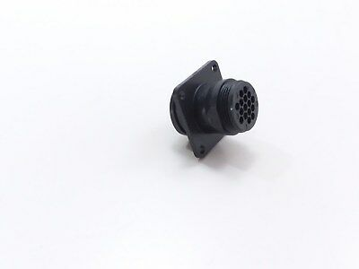Amp 206036-1 16 Pin Male Connector