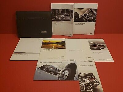 13 2013 Audi A8/S8 Owners Manual w/ Navigation