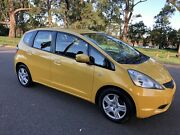 2008 Honda Jazz GLi Hatch 11Months Rego Manual Yellow Moorebank Liverpool Area Preview