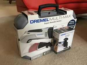BNIB DREMEL Multi-Max Full Kit Multitool plus Assist Handle