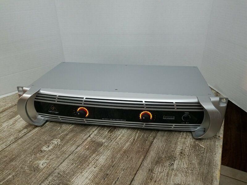 Behringer iNUKE NU1000 High-Density 1000 Watt Power Amplifier Lightweight
