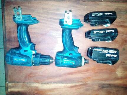 Makita cordless drill and impact driver Caboolture South Caboolture Area Preview