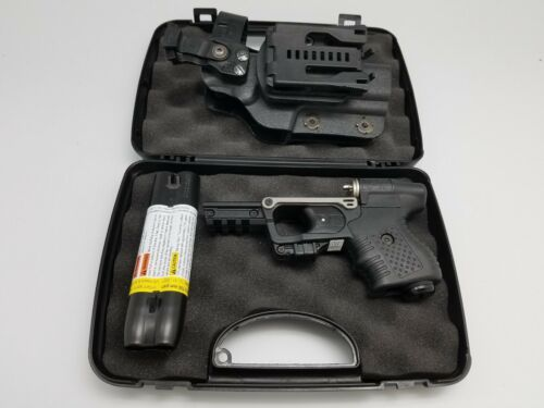 FIRESTORM JPX 2 LE PEPPER BLACK GUN WITH LASER AND LEVEL 2 HOLSTER