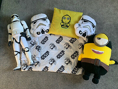 Star Wars Boys Bedroom Set Double Quilt Cover