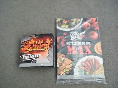 Beachbody Insanity 60 day Total Body Conditioning Workout 10 DVD box set +