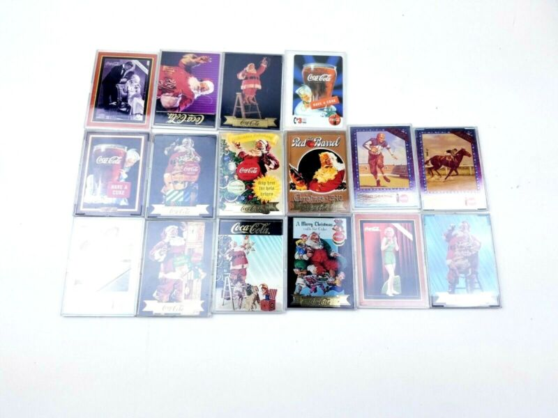 Coca Cola 16 Collectable Cards