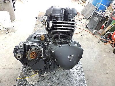 08 Triumph Speedmaster 865 engine motor