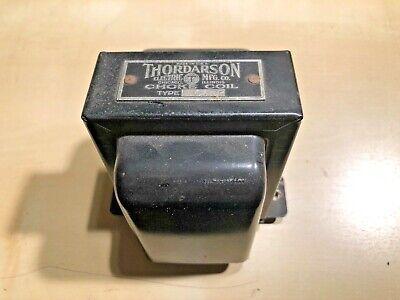 Thordarson Filter Choke Tube Audio