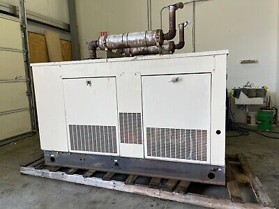 40 Kw Generac Generator And Transfer Switch 507 Hours We Ship 277480