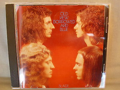 Slade- Old New Borrowed and Blue- POLYDOR 1991- Made in Germany