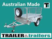 6X4 AUSSIE GALVANISED|750KG GVM|SINGLE AXLE| Traralgon East Latrobe Valley Preview