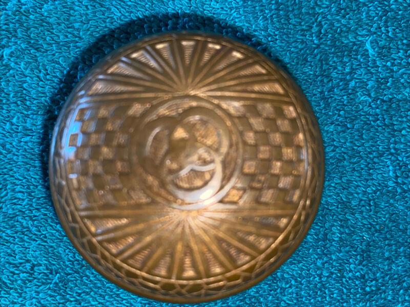 Antique Cast Bronze Victorian Doorknob - F-12200 by Mallory & Wheeler