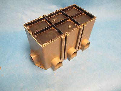 Thomas Betts 3 Gang Floor Box 10 X 5 X 5 New Surplus