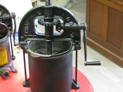Vintage Chop-riteenterprize Sausage Stufferlard Fruit Press 8 Quart