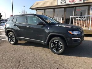 2017 Jeep Compass Trailhawk EVERY AVALIBLE OPTION!