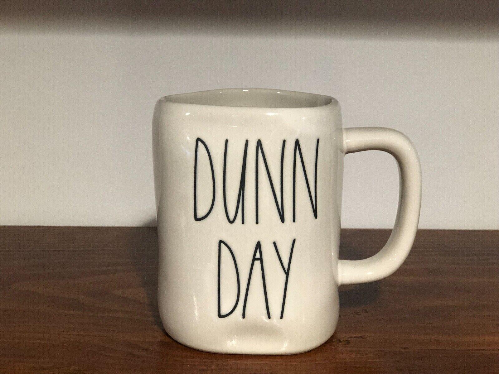 Rae Dunn Artisan Collection By Magenta Farmhouse LL Large Letter Coffee Tea Mug DUNN DAY