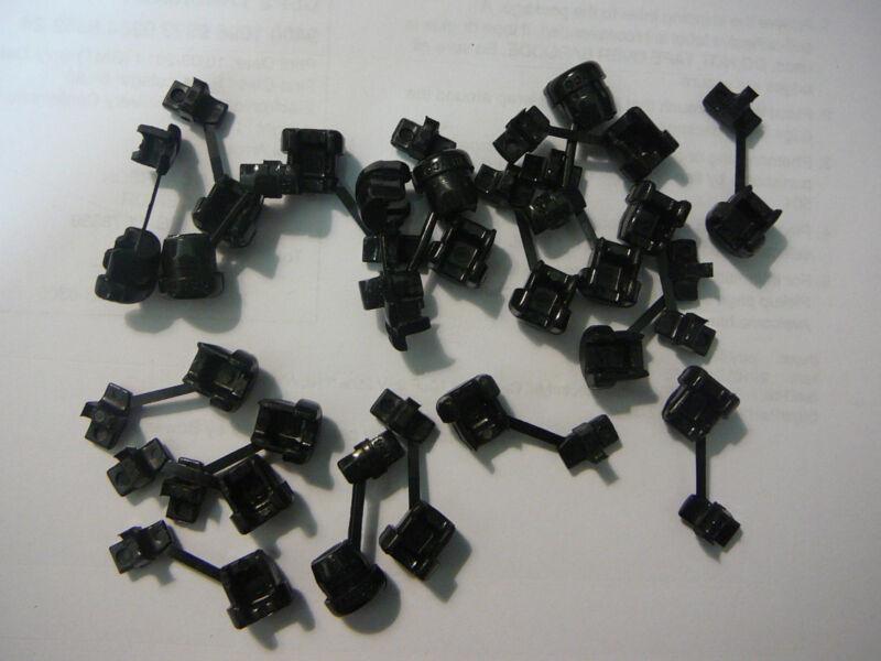 HEYCO 2P-4 STRAIN RELIEF BUSHINGS BLACK **NEW** Qty.50