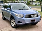 Toyota Kluger with rego and RWC Parramatta Park Cairns City Preview