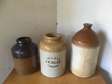 Antique Ceramic Stoneware - demijohn, containers East Fremantle Fremantle Area Preview
