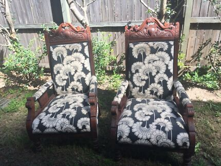 Edwardian antique chairs - Dining Chairs - 6 Antique Edwardian Chairs Antiques Gumtree