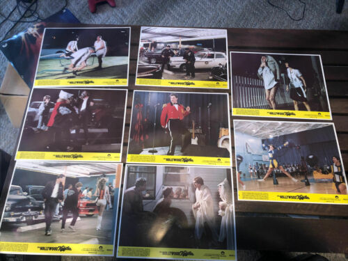"1980 HOLLYWOOD KNIGHTS Lobby Cards SET of 8 Michelle Pfeiffer & More 8""X10"""