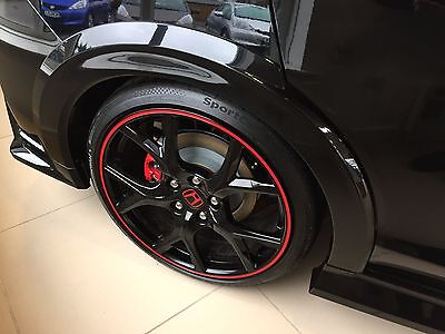 GENUINE HONDA CIVIC TYPE R OS REAR WHEEL ARCH TRIM 2015 2016 ALL COLOURS AVAIL