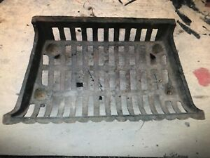 Cast Iron Fireplace Grill