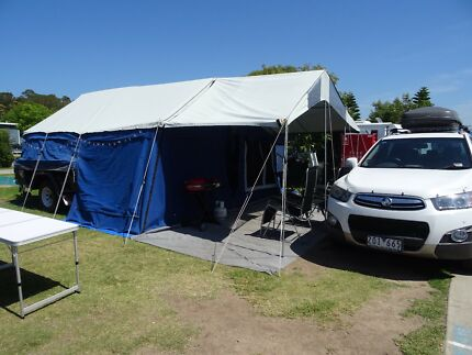 2009 CAMPER TRAILER FROM GET AROUND CAMPERS Grovedale Geelong City Preview
