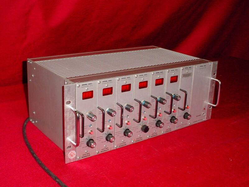 PPM Inc FVI-5A Frequency Crystal Oscillator Regulator Power Supply Module