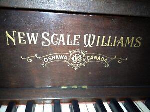 New Price! 1904 New Scale Williams piano