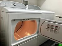 Whirlpool High Efficiency Washer and Dryer Set