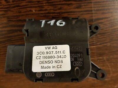 *VW Audi Seat Skoda Air Heater Actuator Temperature Flap Motor 3C0907511C