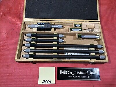 Mitutoyo Digital Tubular Inside Micrometer 8-80 In 339-294 Machinist Tool P655