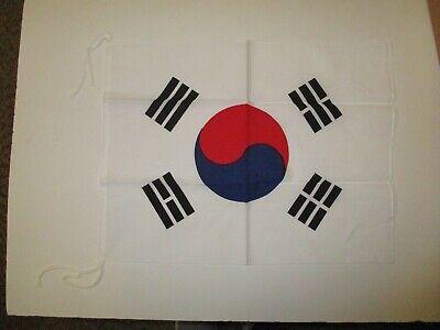 E3390  Korean War Era Flag South Korea Cotton R2C