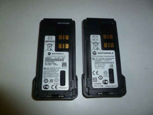 TWO OEM Motorola Li-Ion Two Way Radio Battery XPR7550 APX4000 APX3000 APX2000