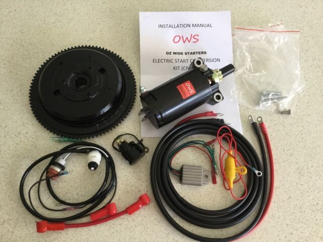 New Electric Start Conversion Kits For Yamaha 40hp