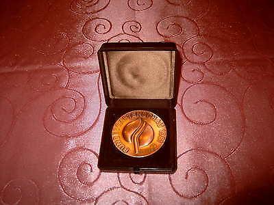 Riesen Medaille Auszeichnung Bundesgartenschau Kassel 1981 ZVG Gartenbau M_265