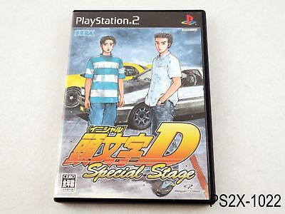 Initial D Special Stage Playstation 2 Japanese Import Japan JP PS2 US Seller B