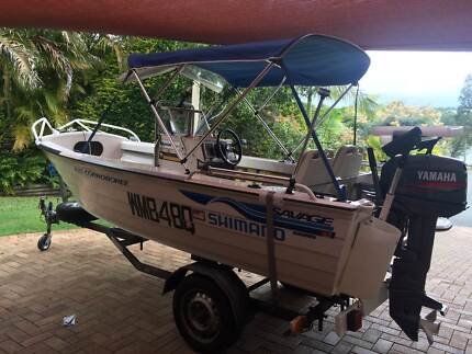 Savage 4.35 meter Boat Thornlands Redland Area Preview