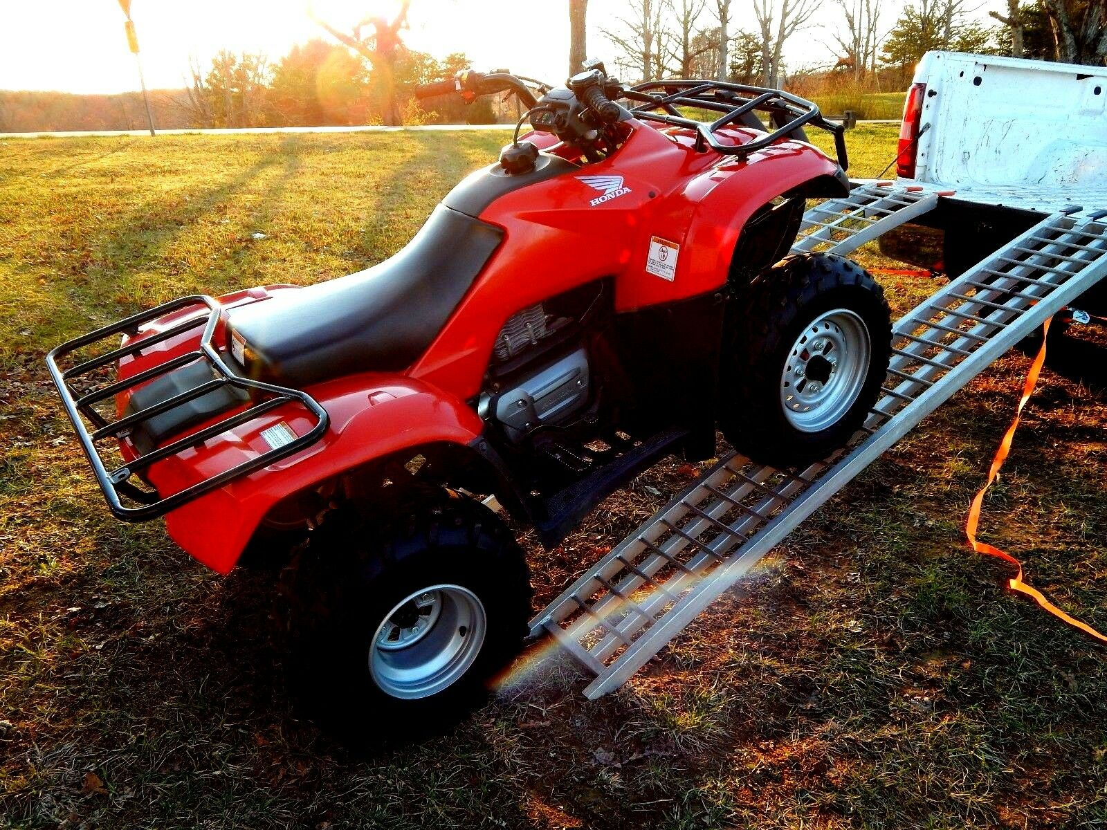 2013 Honda Recon 250 Atv 4 Wheeler 4x2  Very Nice Condition. Garage Kept