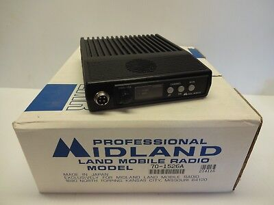New Midland Lmr Land Mobile Radio Uhf With Accesories 70-1526a