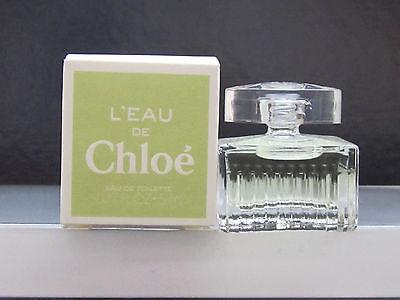 L'Eau De Chloe Women Perfume 0.17 oz Eau de Toilette Splash Mini New In Box