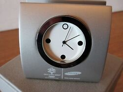 2002 SLC Olympics souvenir desktop  business card holder / clock