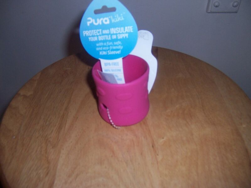 Pura kiki  silicone sleeve pink new
