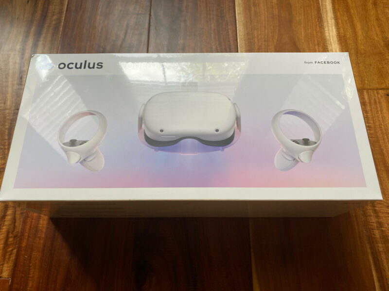 Brand New Oculus Quest 2 All-in-One VR Gaming Headset 64GB/256GB